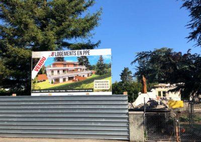 Démolition ancienne villa – Chêne-Bougeries