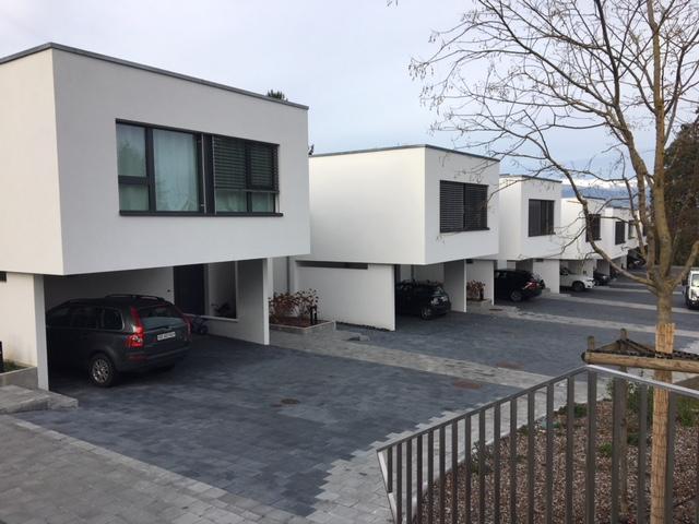 Livraison des villas à Collonge-Bellerive